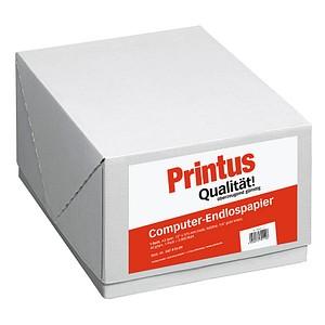 Printus Endlospapier A3 quer 1-fach, 60 g/qm weiß 2.000 Blatt