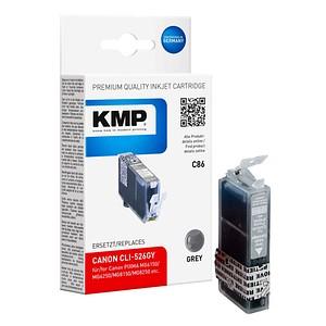 KMP grau Tintenpatrone ersetzt Canon CLI-526 GY