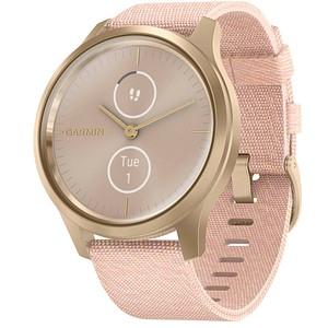 GARMIN vivomove Style Smartwatch rosa, wei szlig gold