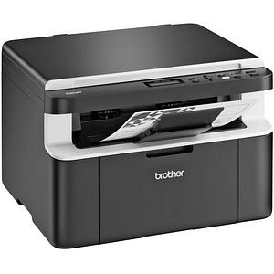 brother DCP-1612W 3 in 1 Laser-Multifunktionsdrucker schwarz