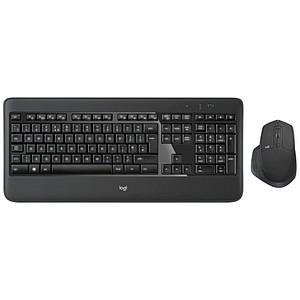 Logitech MX900 PERFORMANCE COMBO Tastatur-Maus-Set kabellos schwarz