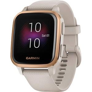 GARMIN Venu Sq Music Smartwatch beige, ros eacute gold