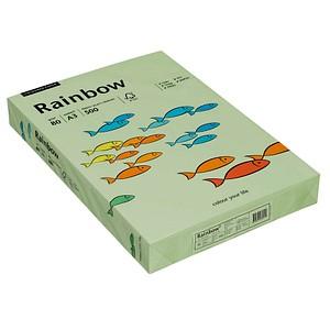 Rainbow Kopierpapier COLOURED PAPER hellgrün DIN A3 80 g/qm 500 Blatt