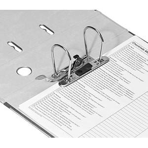 LEITZ 1080 Ordner lichtgrau marmoriert Karton 8,0 cm DIN A4