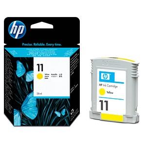 HP 11 (C4838A) gelb Tintenpatrone