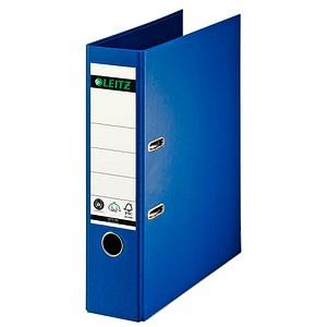 LEITZ 1007 Ordner blau Karton 8,0 cm DIN A4