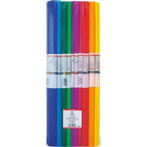 WEROLA Krepppapier standard farbsortiert 31 g/qm 10 Rollen