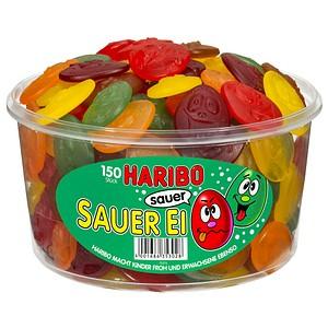 Fruchtgummis SAUER EI von HARIBO