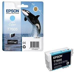 EPSON T7605 light cyan Tintenpatrone