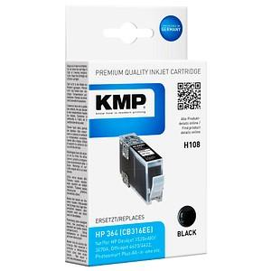 KMP H108 schwarz Tintenpatrone ersetzt HP 364 (CB316EE)