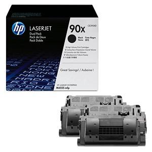 2 HP 90X (CE390XD) schwarz Tonerkartuschen
