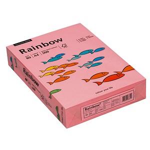 Rainbow Kopierpapier COLOURED PAPER rosa DIN A4 80 g/qm 500 Blatt