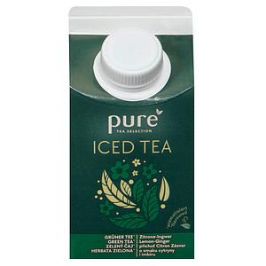 pure Iced Tea Grüner Tee Zitrone-Ingwer Fruchtsaftgetränk 0,5 l