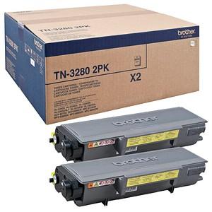 2 brother TN-3280 schwarz Toner