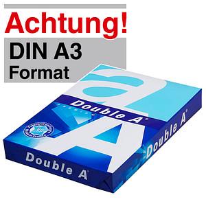 Double A Kopierpapier PREMIUM DIN A3 80 g/qm 500 Blatt