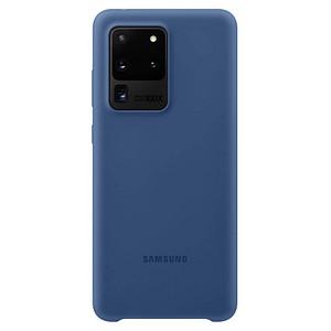 SAMSUNG Silicone Cover Handy-Cover f uuml r SAMSUNG Galaxy S20 Ultra navy