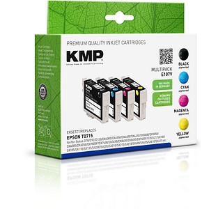4 KMP E107V schwarz, cyan, magenta, gelb Tintenpatronen ersetzen EPSON T0715