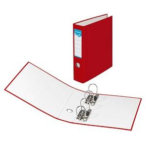 DONAU Doppelordner rot Karton 7,5 cm