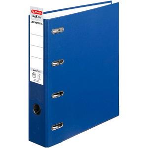 herlitz maX.file protect Doppelordner blau Karton 7,0 cm