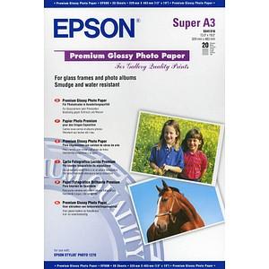 EPSON Fotopapier S041316 DIN A3+ hochglänzend 250 g/qm 20 Blatt