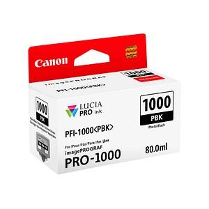 Canon PFI-1000 PBK Foto schwarz Tintenpatrone