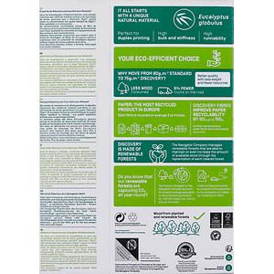 DISCOVERY Kopierpapier DISCOVERY DIN A4 75 g/qm 500 Blatt
