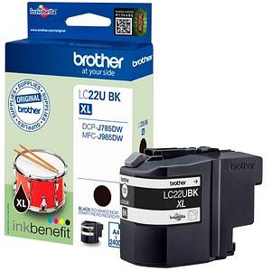 brother LC-22UBK schwarz Tintenpatrone