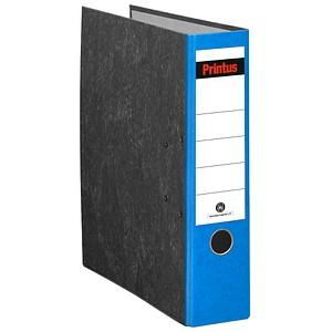 Printus Ordner blau marmoriert Karton 8,0 cm DIN A4
