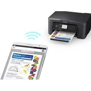 EPSON Expression Home XP-4100 3 in 1 Tintenstrahl-Multifunktionsdrucker schwarz