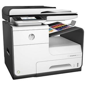 HP PageWide 377dw 4 in 1 Tintenstrahl-Multifunktionsdrucker wei szlig