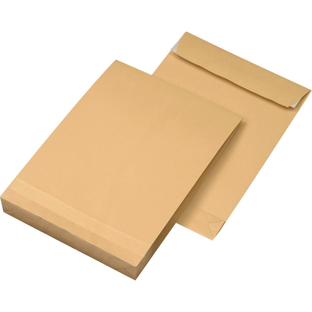 Papierversandtasche Vorder- und Rückseite