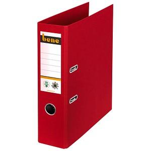 bene No.1 Ordner rot Karton 8,0 cm DIN A4
