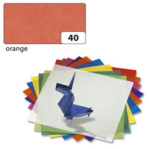 folia Transparentpapier orange 70,0 x 100,0 cm 42 g/qm