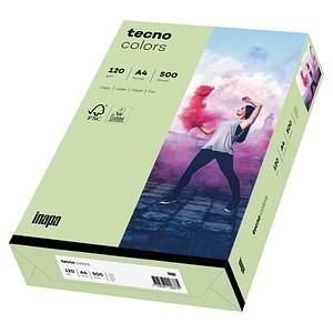 tecno Kopierpapier colors mittelgrün DIN A4 120 g/qm 250 Blatt