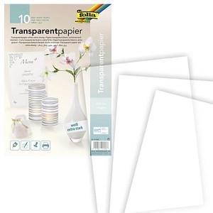 folia Transparentpapier   DIN A4   115 g/qm 10 Blatt
