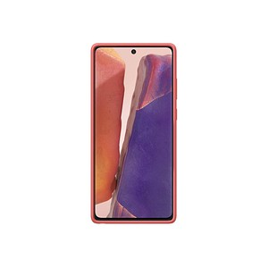 SAMSUNG Kvadrat Cover Handy-Cover f uuml r Samsung Galaxy Note 20 rot