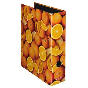 herlitz maX.file Fruits Motivordner Orange 8,0 cm DIN A4