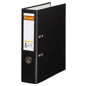 bene No.1 Power Ordner schwarz Kunststoff 8,0 cm DIN A4