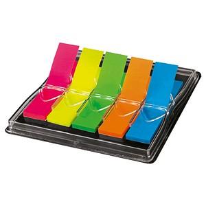 SIGEL TRANSPARENT Haftmarker farbsortiert 5x 40 Streifen