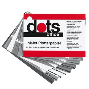 Musterpack GRATIS: dots Plotterpapier 80-200 g/qm 13,0 cm x 13,0 cm