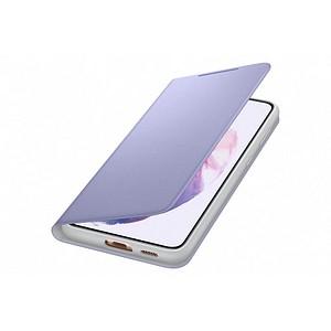 SAMSUNG Smart LED View Cover Handy-H uuml lle f uuml r SAMSUNG Galaxy S21 violett