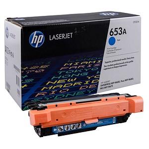 HP 653A (CF321A) cyan Tonerkartusche