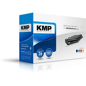 KMP B-DR26V schwarz, cyan, magenta, gelb Trommel ersetzt brother DR-241CL