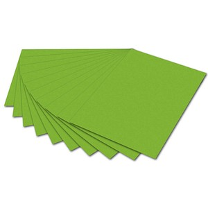 folia Tonpapier   neongrün DIN A4   130,0 g/qm
