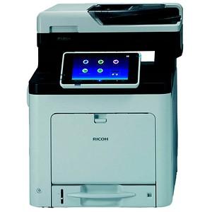 RICOH SP C360SFNw 4 in 1 Farblaser-Multifunktionsdrucker grau