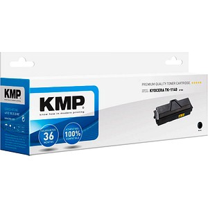 KMP K-T63 schwarz Toner ersetzt KYOCERA TK-1140