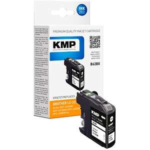 KMP B62BX schwarz Tintenpatrone ersetzt brother LC-223BK
