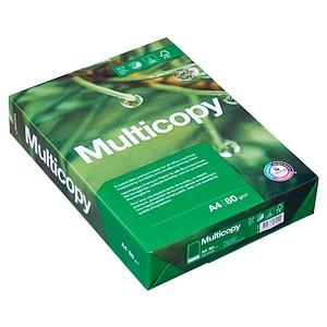 Multicopy Kopierpapier ORIGINAL DIN A4 80 g/qm Palette mit 200x 500 Blatt