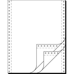 SIGEL Endlospapier A4 hoch 3-fach, 60 g/qm weiß 600 Blatt