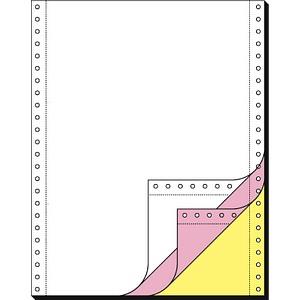 SIGEL Endlospapier A4 hoch 3-fach, 70 g/qm weiß 600 Blatt